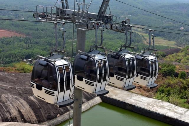 Cable Car di Jatayu Nature Park, India