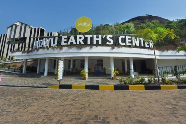 Jatayu Earth's Center di Jatayu Nature Park, India