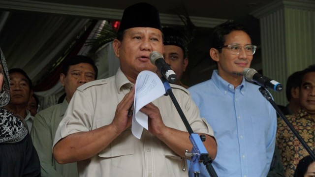 Prabowo ke Massa Aksi: Pulanglah, Istirahat, Hadapi Besok untuk Sahur (85884)