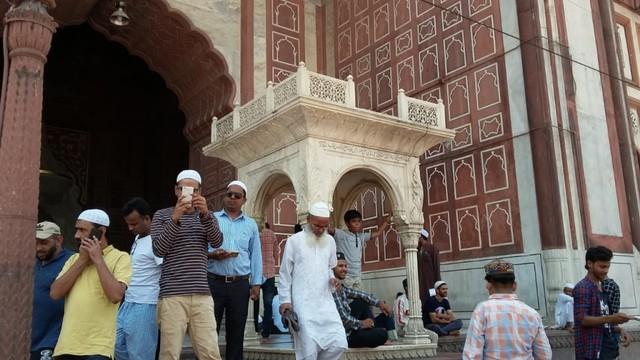 Pesona Jama Masjid Delhi, Warisan Arsitektur India Abad ke-17  (24098)