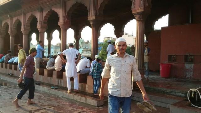 Pesona Jama Masjid Delhi, Warisan Arsitektur India Abad ke-17  (24106)