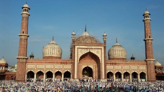 Pesona Jama Masjid Delhi, Warisan Arsitektur India Abad ke-17  (24108)