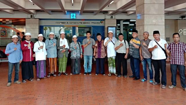 Barisan Kiai Santri Nahdliyin, Prabowo-Sandi Jatim, Jakarta