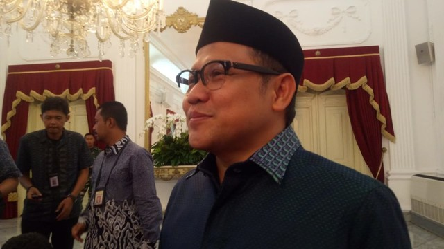 Dipimpin Cak Imin, Pengurus PKB Temui Jokowi Beri Ucapan Selamat (782216)