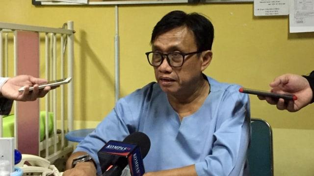 Direktur Rumah Sakit Budi Kemuliaan, Dr. Fahrul W Arbi