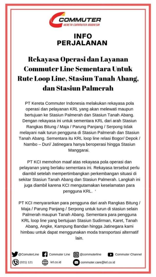 Rekayasa Operasi Layanan Commuter Line (NOT COVER)