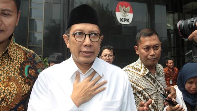 Menteri Agama, Lukman Hakim Saifuddin, KPK