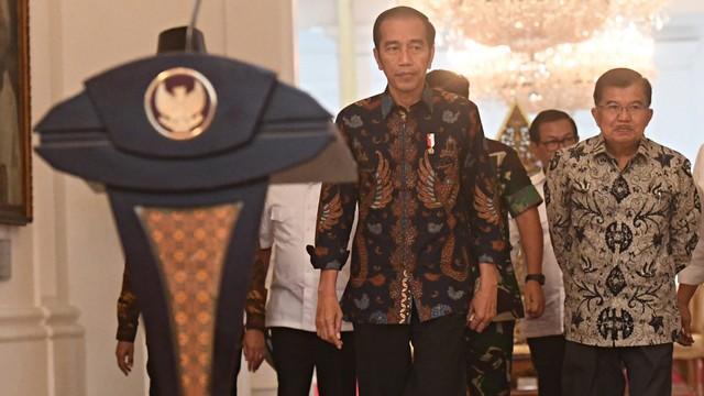 Presiden Jokowi Gelar Konferensi Pers Terkait Kericuhan