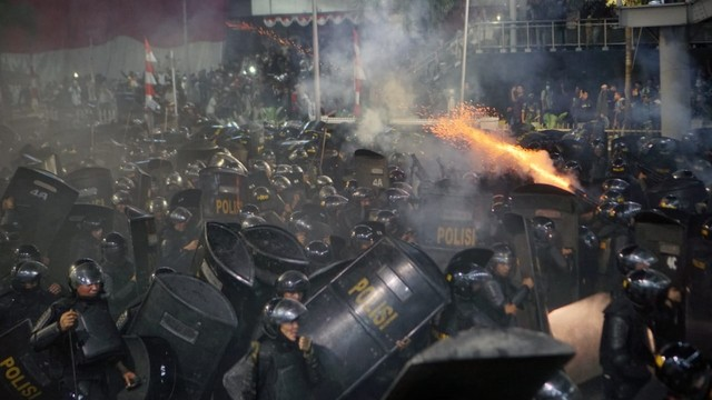 Kerusuhan 22 mei, demo 22 Mei, Bawaslu, Polisi