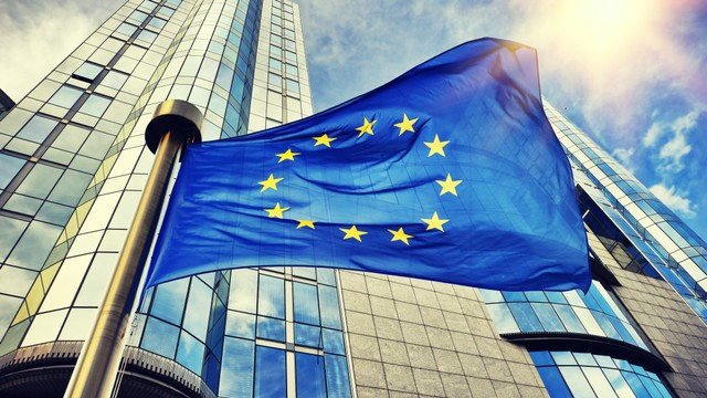 Ilustrasi bendera Eropa