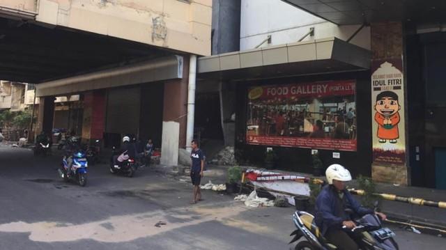 Foto: Pasar Tanah Abang Masih Tutup (4002)