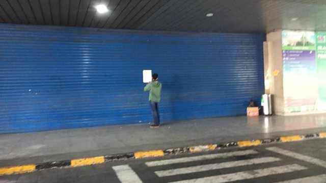Foto: Pasar Tanah Abang Masih Tutup (3998)