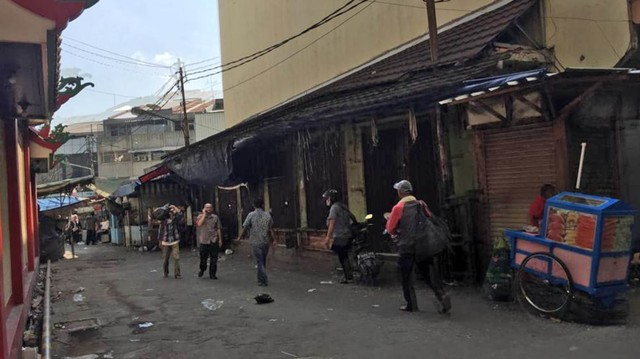 Foto: Pasar Tanah Abang Masih Tutup (3999)