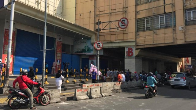 Foto: Pasar Tanah Abang Masih Tutup (3993)