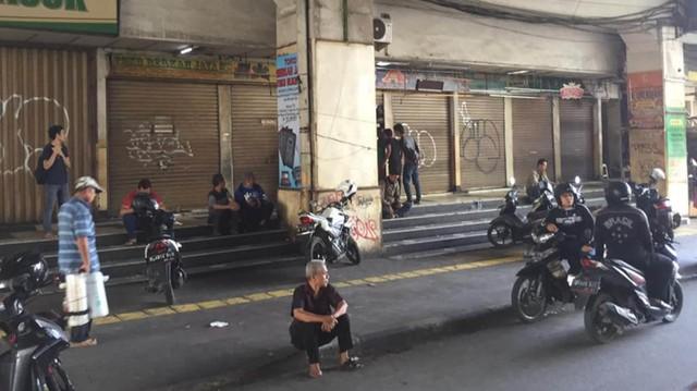 Foto: Pasar Tanah Abang Masih Tutup (3996)