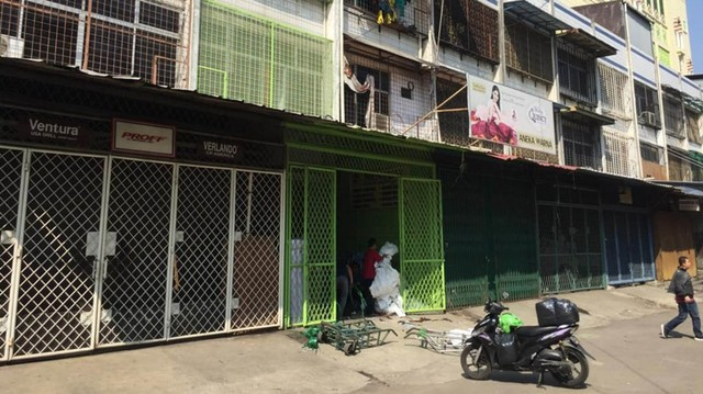 Foto: Pasar Tanah Abang Masih Tutup (3995)