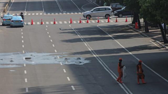 Kapolda Metro Jaya: Jalan MH Thamrin Ditutup Hingga Situasi Kondusif (3690)
