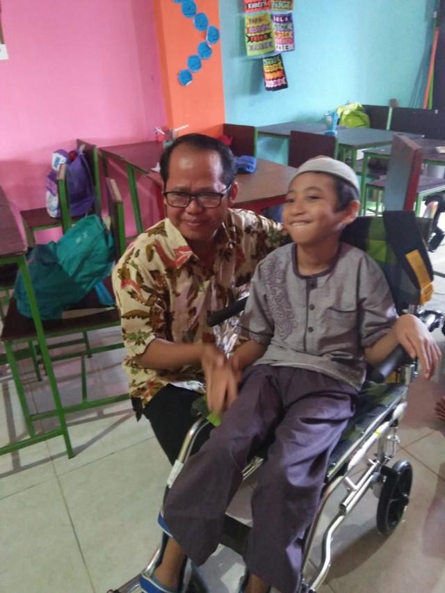 Kisah Naja, Bocah Penderita Lumpuh Otak yang Hafal 30 Juz Al-Quran (86704)