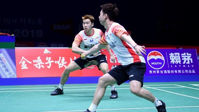 Piala Sudirman 2019, Indonesia vs Taiwan