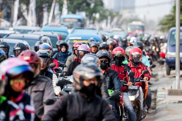 com-Ilustrasi kemacetan.