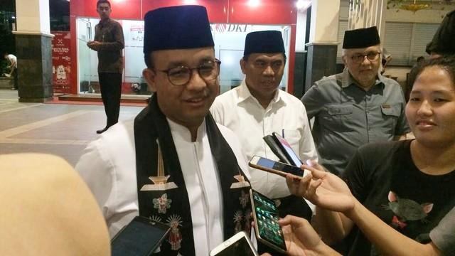 Gubernur DKI Jakarta, Anies Baswedan, DPRD DKI