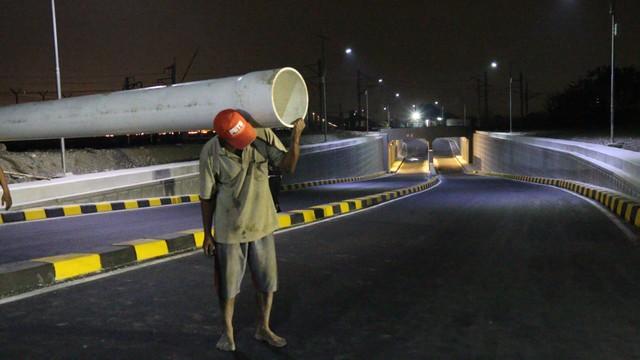 Jalan Perimeter Utara dan Selatan Bandara Soekarno-Hatta Kini Terhubung Jembatan (223632)
