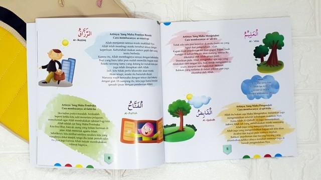 buku cerita anak - Asmaul Husna di Hatiku