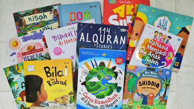 12 Buku Cerita Anak Islami Pilihan kumparanMOM