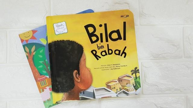 buku cerita anak - Bilal bin Rabah