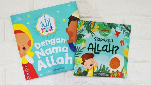 buku cerita anak - Dengan Nama Allah
