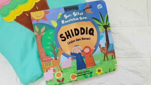 buku cerita anak - Shiddiq