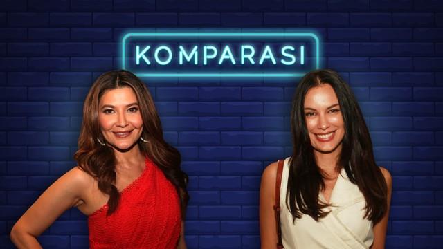 Membandingkan 2 Aktris Senior, Tamara Bleszynski dan Sophia Latjuba (333434)