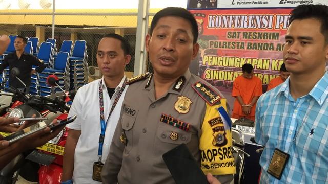 Kapolresta Banda Aceh, Kombes Pol Trisno Riyanto