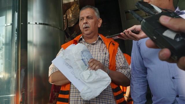 Sofyan Basir di gedung KPK