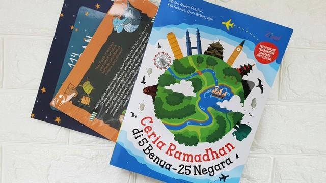 buku anak - ceria ramadhan di 5 benua