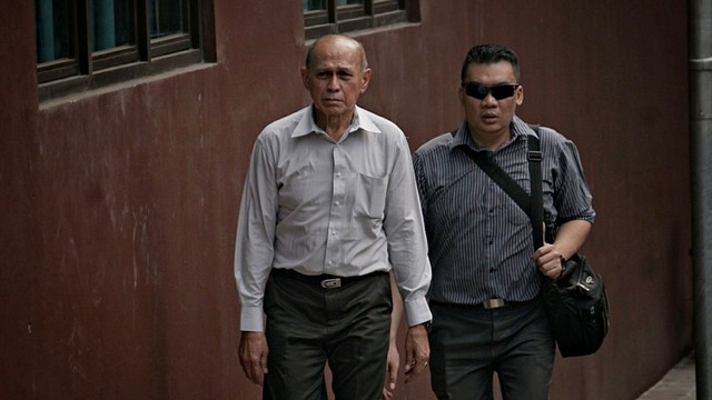 Kivlan Zein tiba di Bareskrim, Jakarta