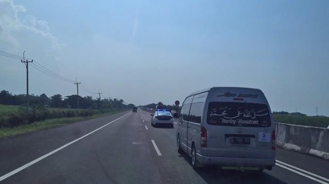 Arus Mudik Jakarta - Brebes Lancar.