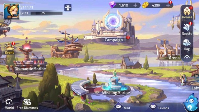 Game Mobile Legends: Adventure