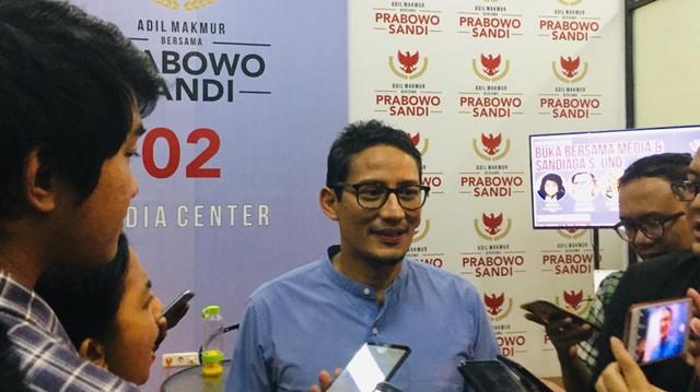Sandiaga Uno, Prabowo-Sandi, Berbuka Bersama.