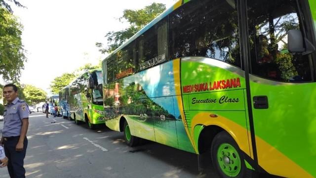 Pemda Sulawesi Tengah Berangkatkan 501 Peserta Mudik Gratis (439030)