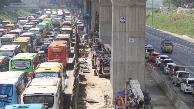 Pemberlakuan Contra Flow Jakarta-Cikampek
