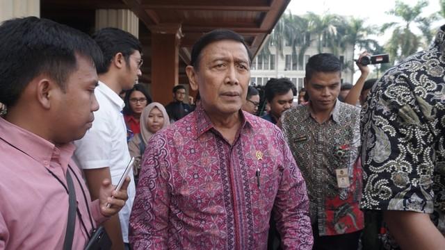 Wiranto di Kementerian Koordinator Bidang Politik, Hukum, dan Keamanan Republik Indonesia