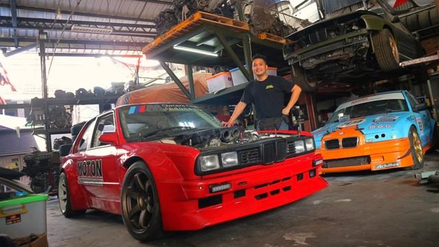 KONTE SPESIAL, BMW E30, Pemilik Bengkel Motorsoul Indonesia, Silas Bonar Andrianto