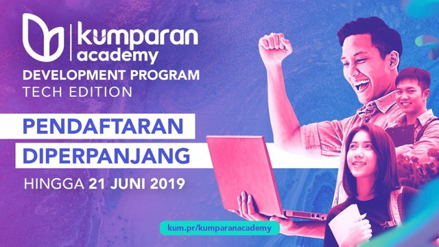 Pendaftaran kumparan Academy Development Program Diperpanjang