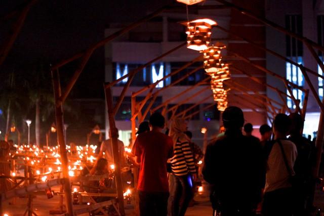 Merawat Tradisi Tumbilotohe lewat Miniatur Menara Pakaya Limboto (400979)