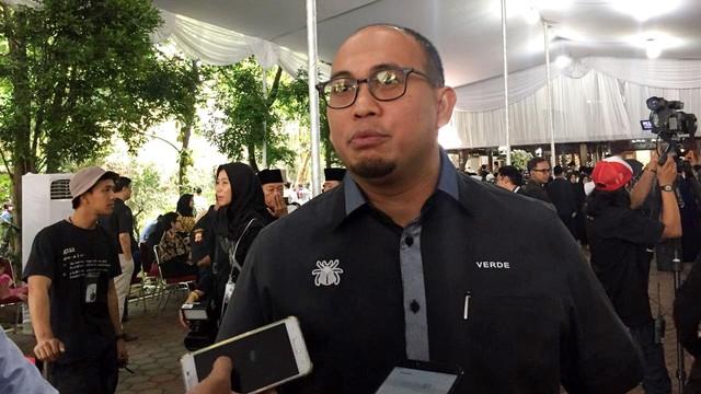 Andre Rosiade di Cikeas, Rumah Duka Ani Yudhoyono