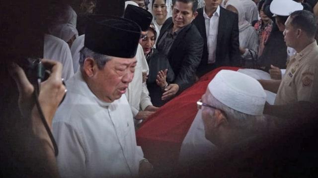 Pemakaman Almarhumah Ani Yudhoyono