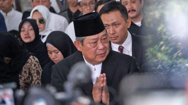 Upacara Pelepasan Jenazah Almarhumah Ani Yudhoyono