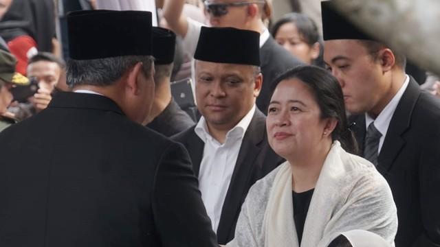 Ani Yudhoyono,Susilo Bambang Yudhoyono, Puan Maharani