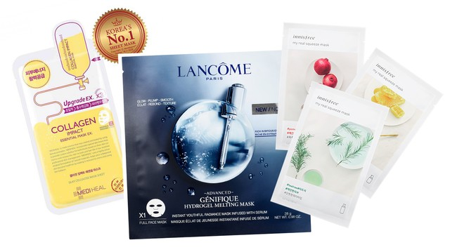 Rekomendasi Sheet mask.